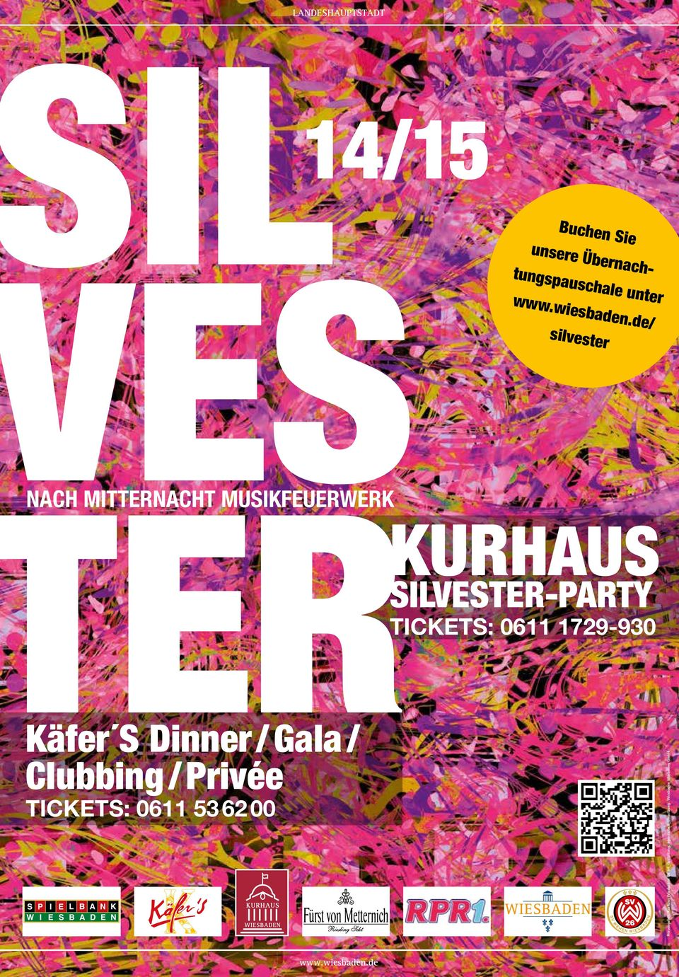 1729-930 Käfer S Dinner / Gala / Clubbing / Privée TickeTs: 0611 53 62 00 Herausgeber: