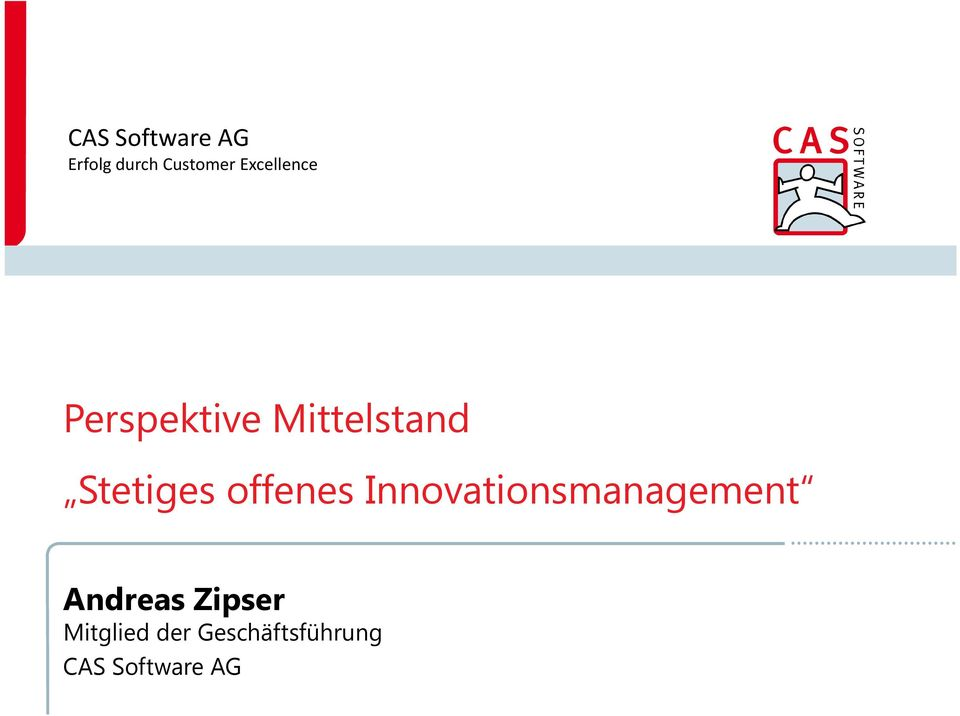 Stetiges offenes Innovationsmanagement