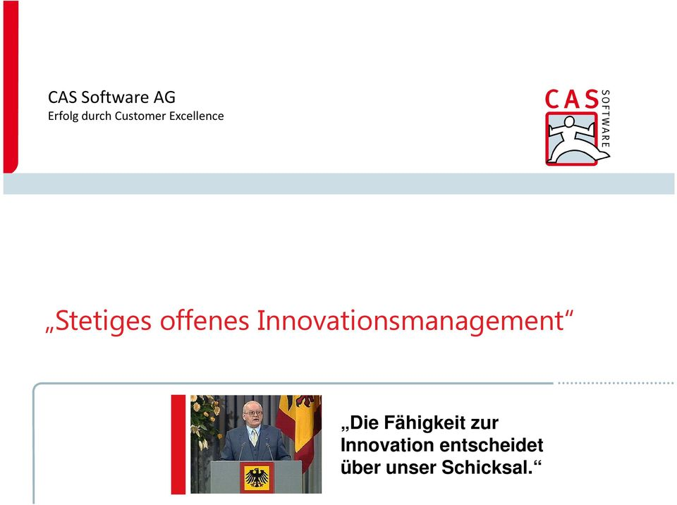Innovationsmanagement Die Fähigkeit