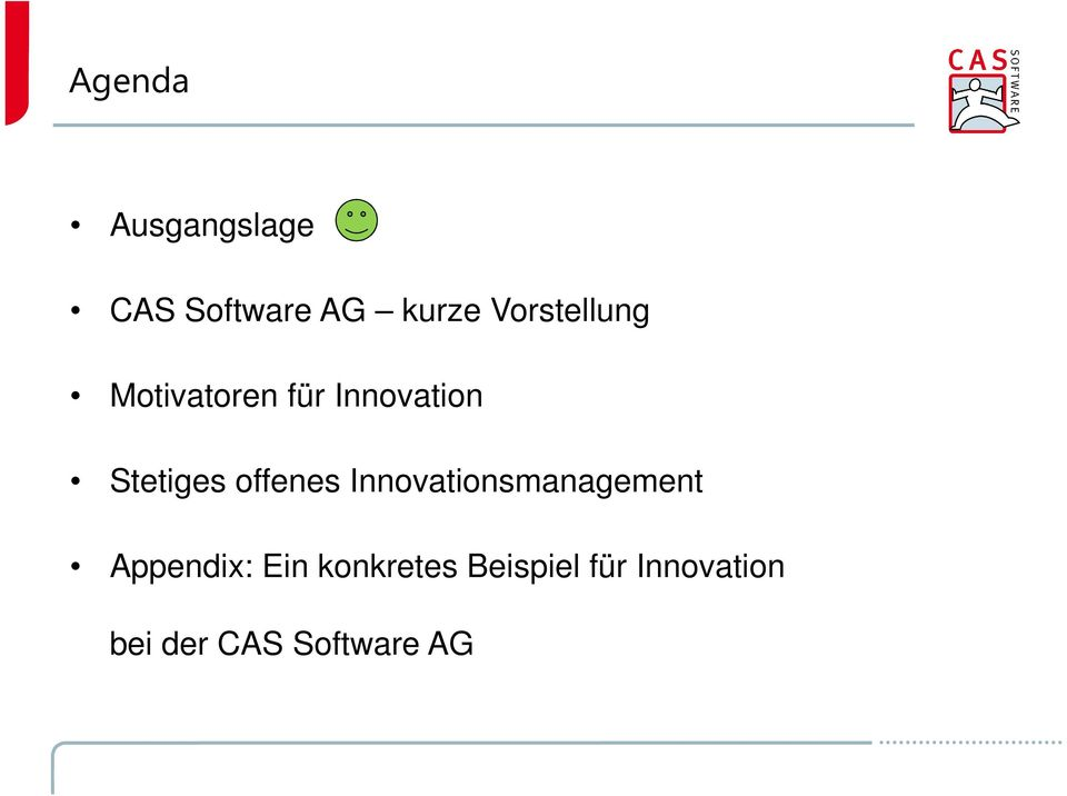 offenes Innovationsmanagement Appendix: Ein