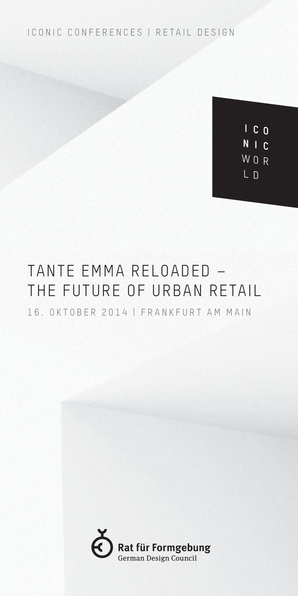 THE FUTURE OF URBAN RETAIL