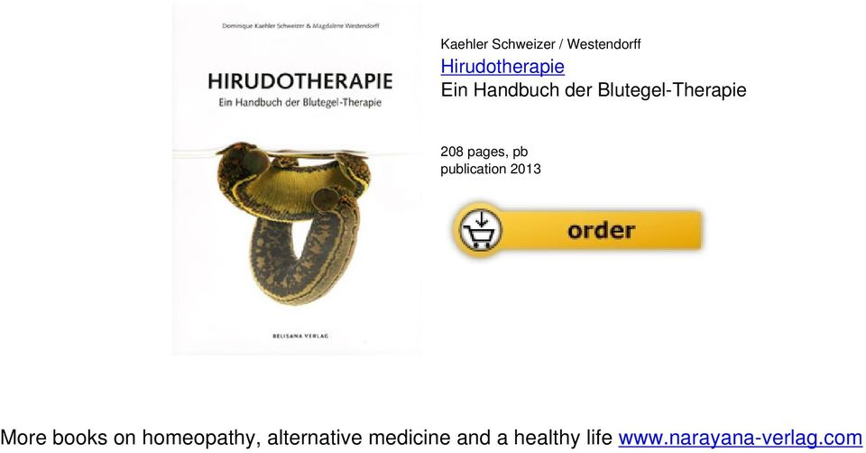 publication 2013 More books on homeopathy,
