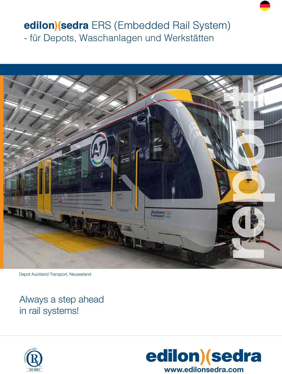 report Depot Auckland Transport,