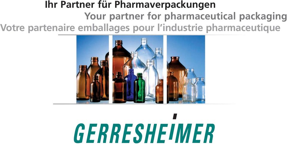 for pharmaceutical packaging
