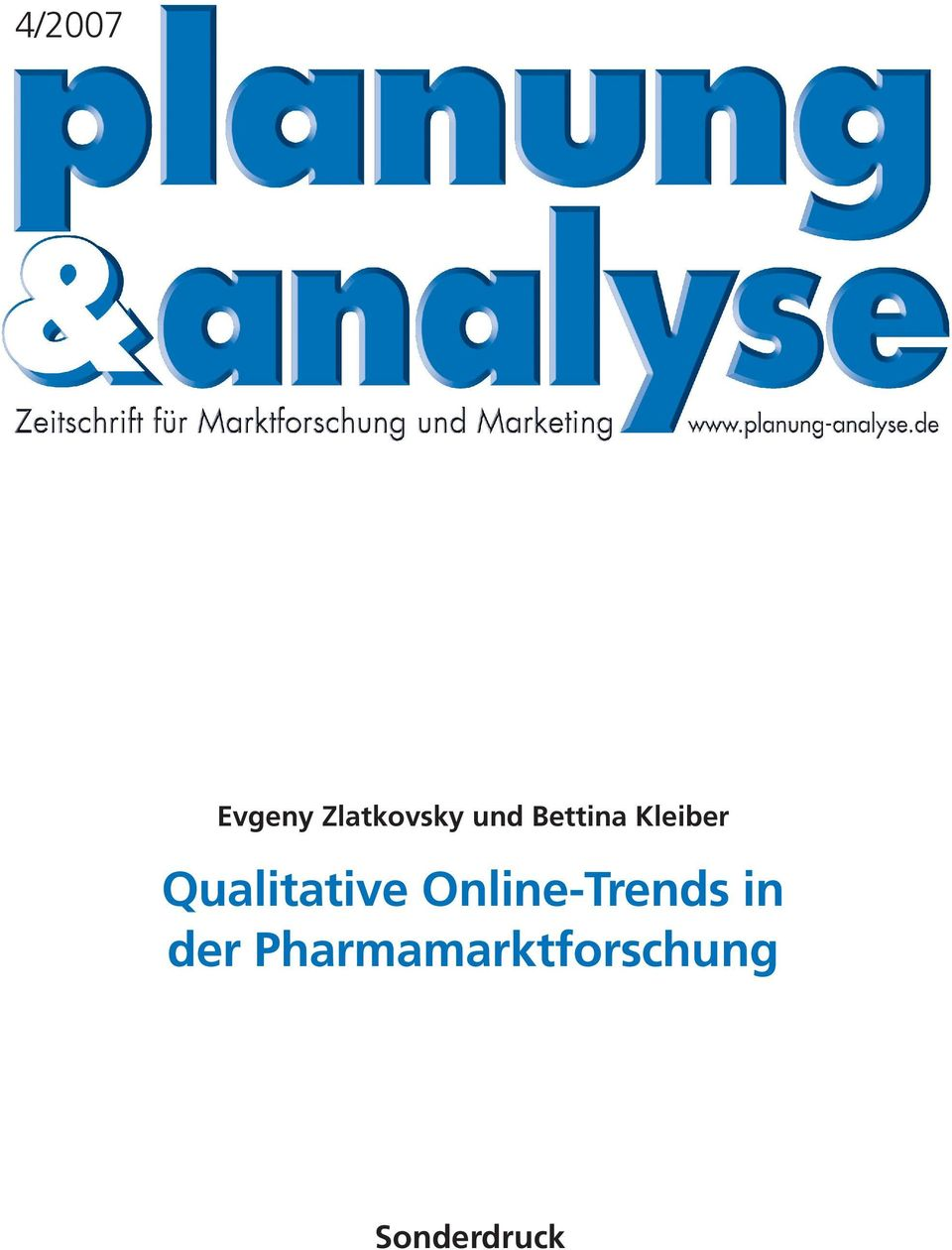 Qualitative Online-Trends