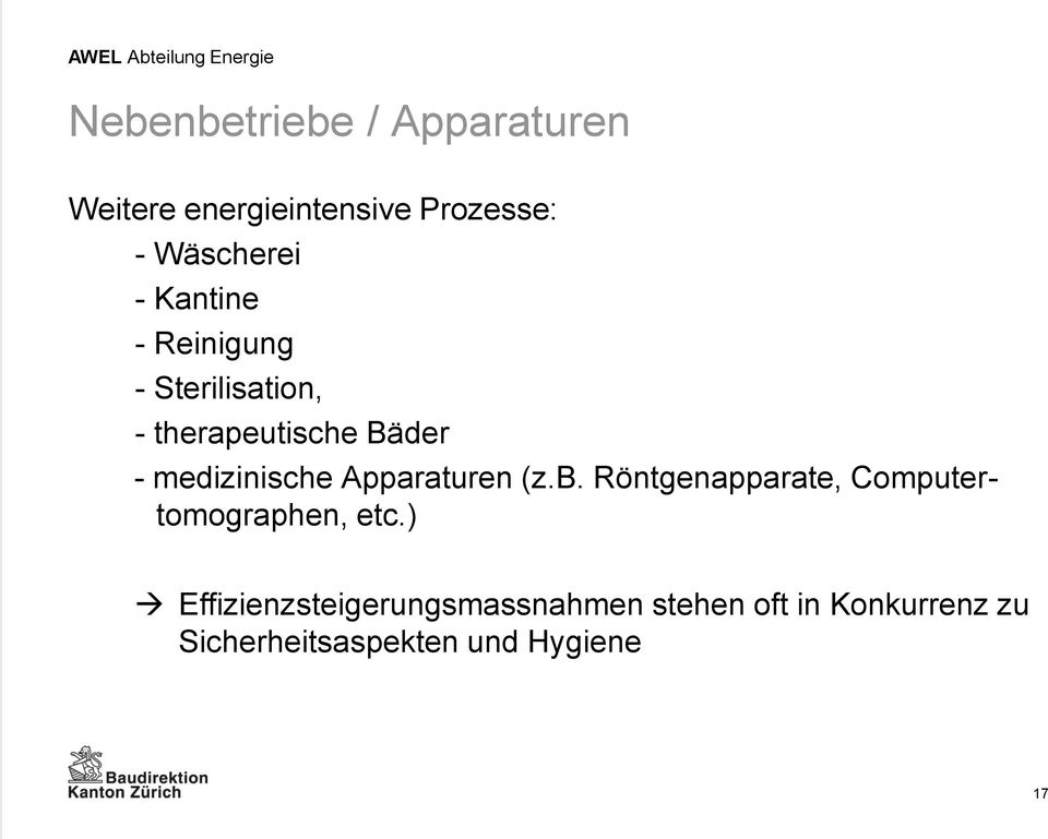Apparaturen (z.b. Röntgenapparate, Computertomographen, etc.