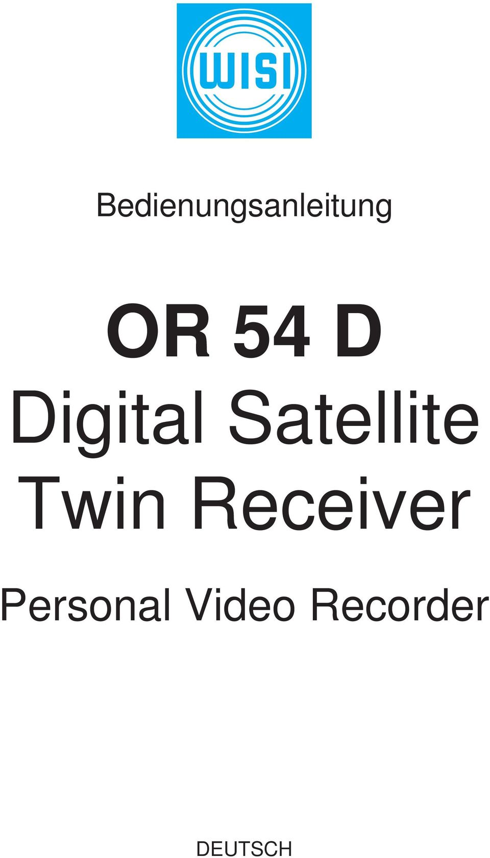 Twin Receiver Personal