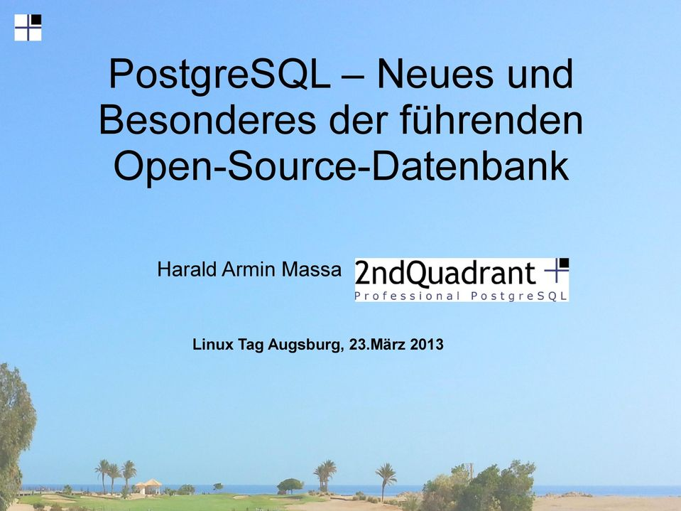 Open-Source-Datenbank Harald