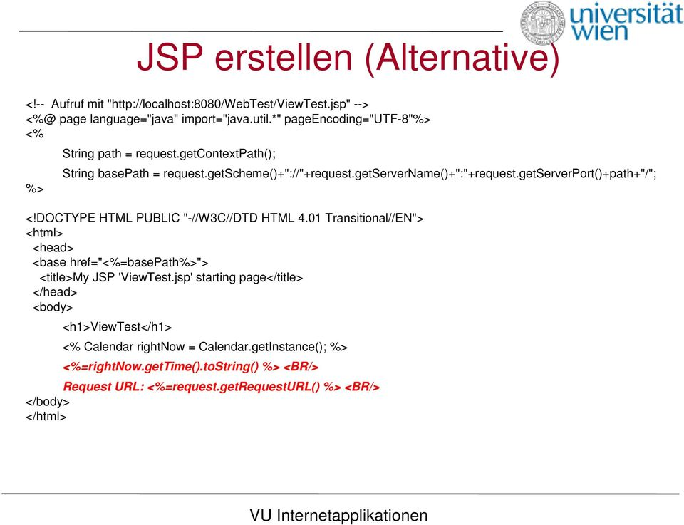 "getserverport()+path+""/""; <!DOCTYPE HTML PUBLIC ""-//W3C//DTD HTML 4.01 Transitional//EN""> <html> <head> <base href=""<%=basepath%>""> <title>my JSP 'ViewTest."