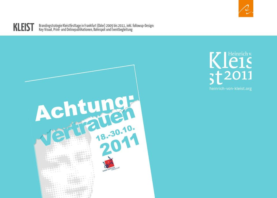 followup-design: Key Visual, Print- und