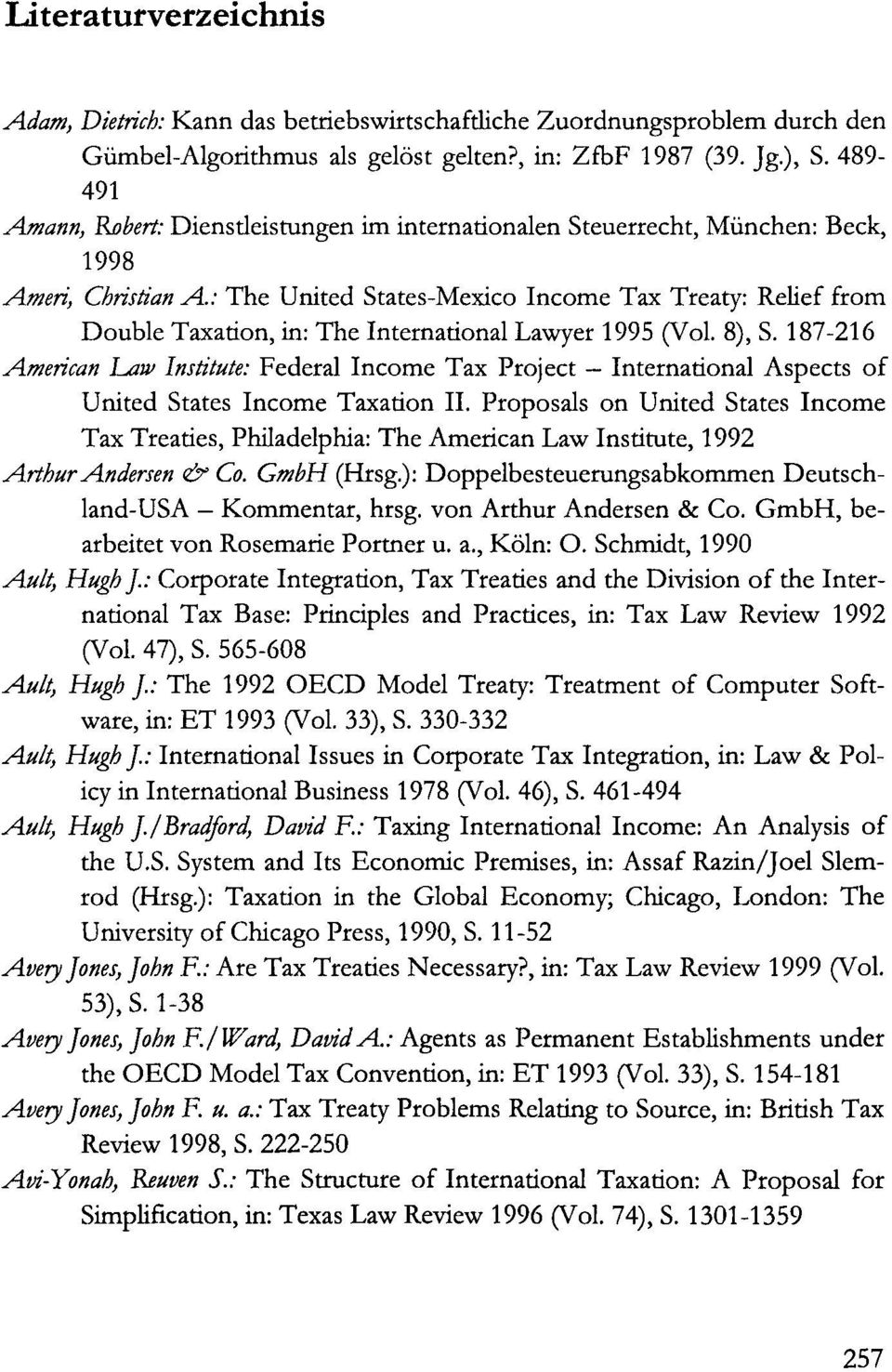 : The United States-Mexico Income Tax Treaty: Relief from Double Taxation, in: The International Lawyer 1995 (Vol. 8), S.