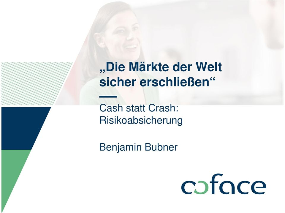 Cash statt Crash: