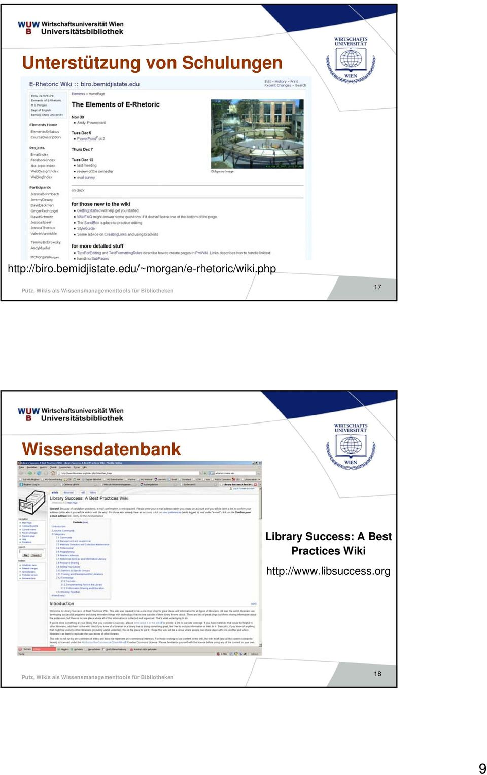 php 17 Wissensdatenbank Library Success: A