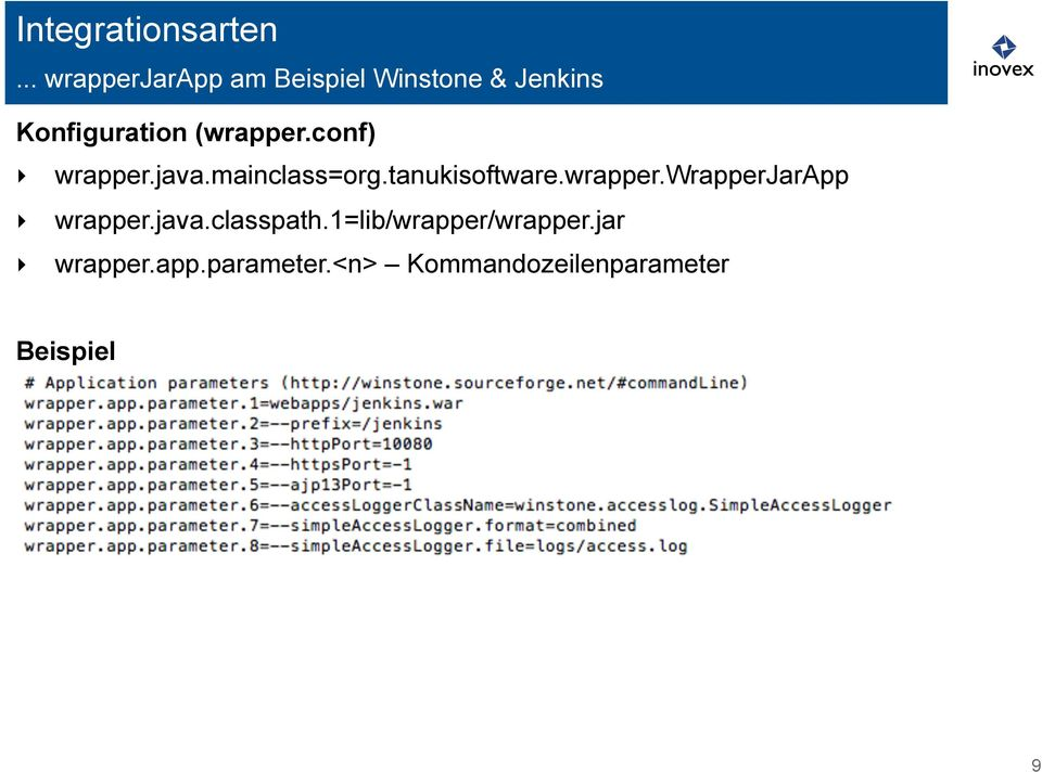 (wrapper.conf) wrapper.java.mainclass=org.tanukisoftware.wrapper.wrapperjarapp wrapper.