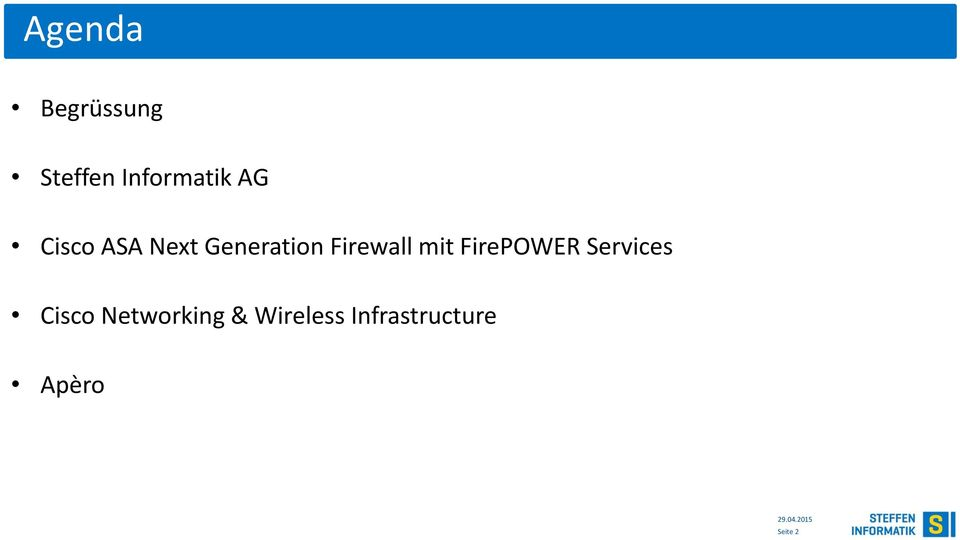 mit FirePOWER Services Cisco