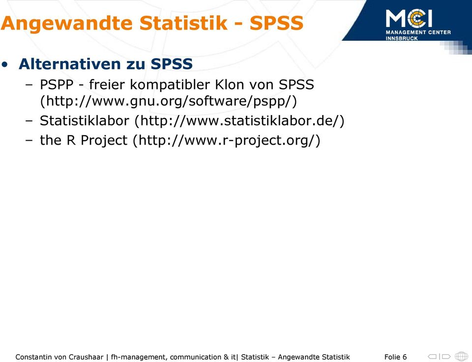 org/software/pspp/) Statistiklabor (http://www.