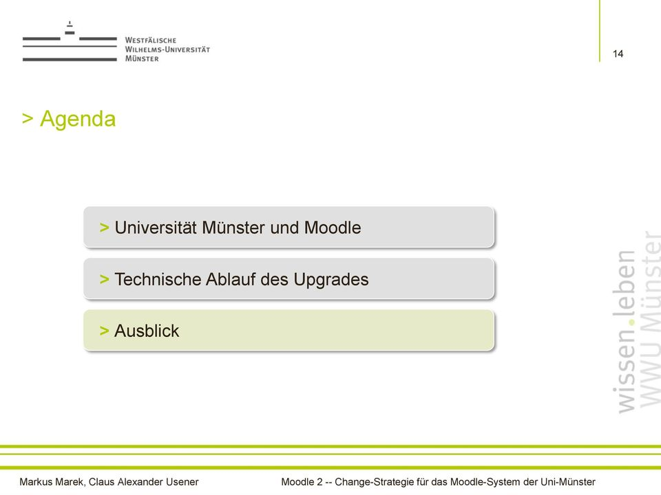 und Moodle >