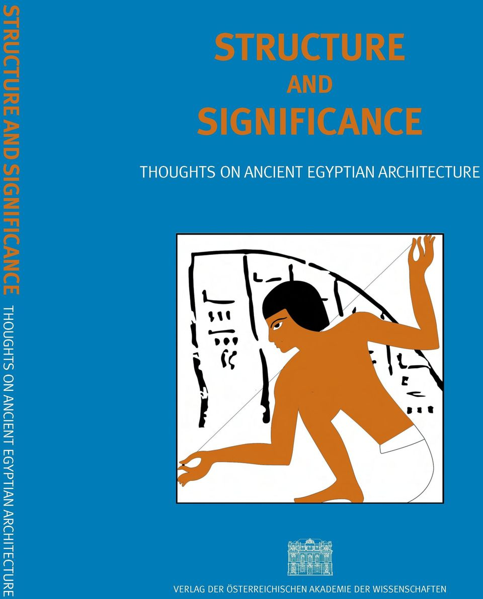 SIGNIFICANCE THOUGHTS ON ANCIENT EGYPTIAN
