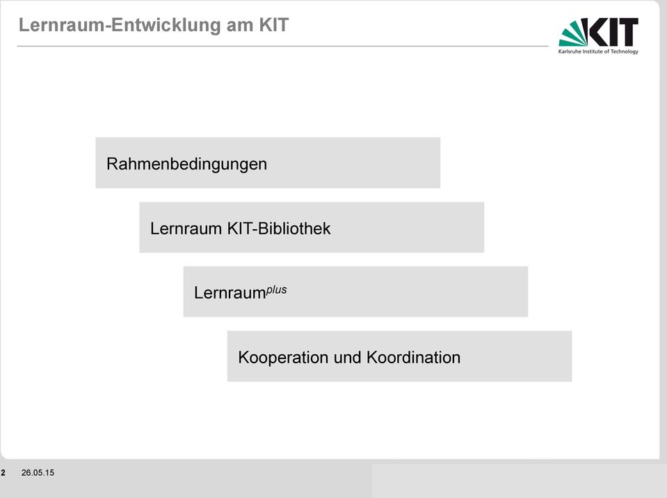 KIT-Bibliothek Lernraum plus