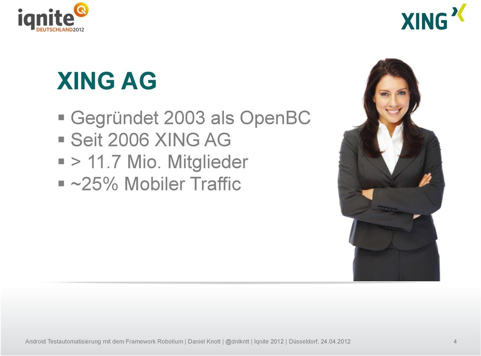 XING AG > 11.7 Mio.