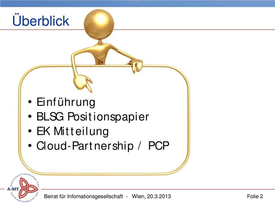 Cloud-Partnership / PCP Beirat für