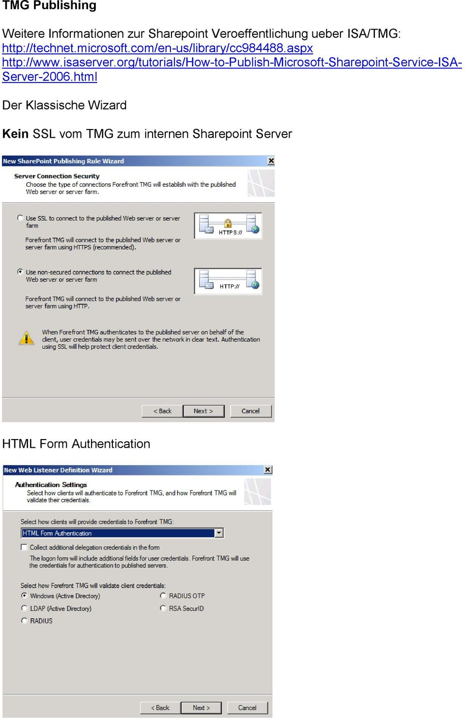org/tutorials/how-to-publish-microsoft-sharepoint-service-isa- Server-2006.