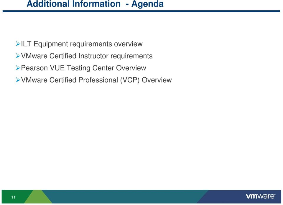 Instructor requirements Pearson VUE Testing