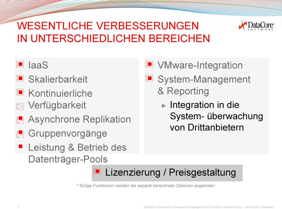 VMware-Integration System-Management & Reporting Integration in die System- überwachung von