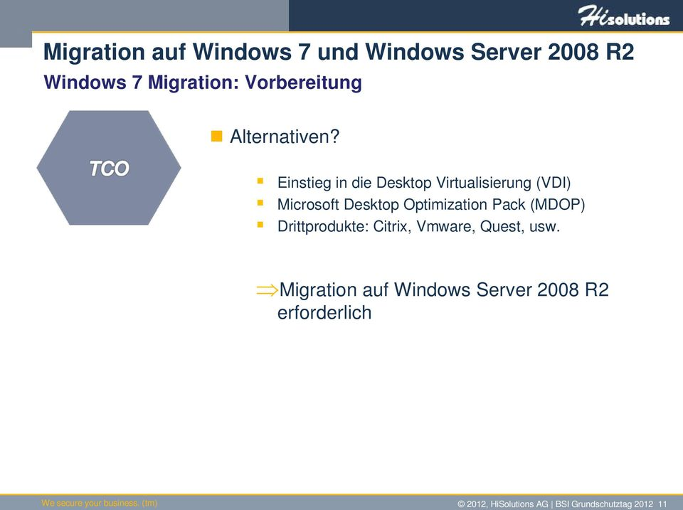 Pack (MDOP) Drittprodukte: Citrix, Vmware, Quest, usw.