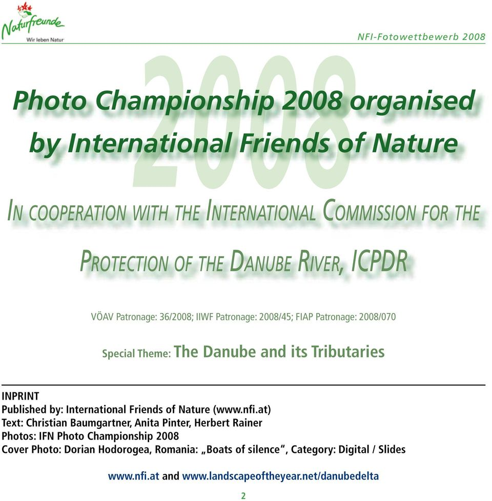 Tributaries INPRINT Published by: International Friends of Nature (www.nfi.