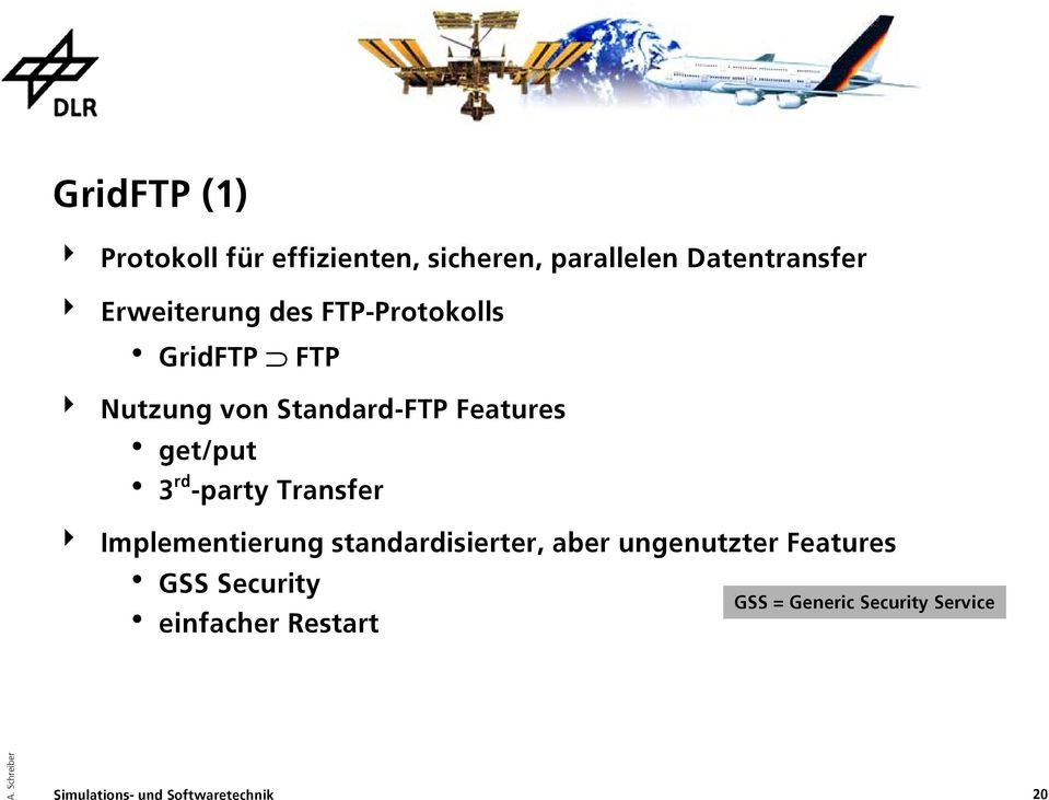 Features get/put 3 rd -party Transfer Implementierung standardisierter,
