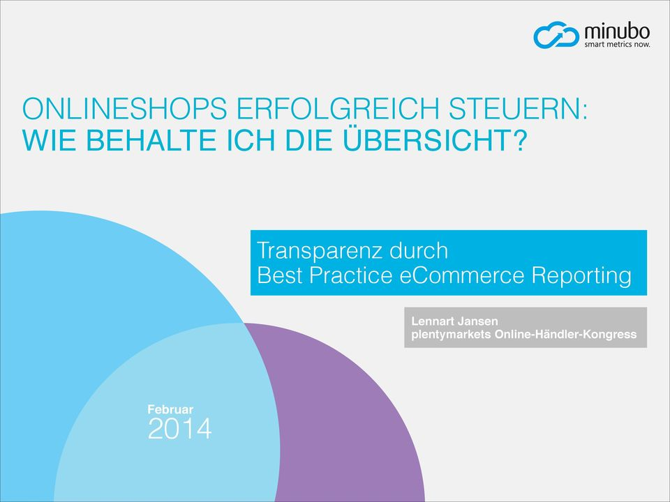 Transparenz durch Best Practice ecommerce
