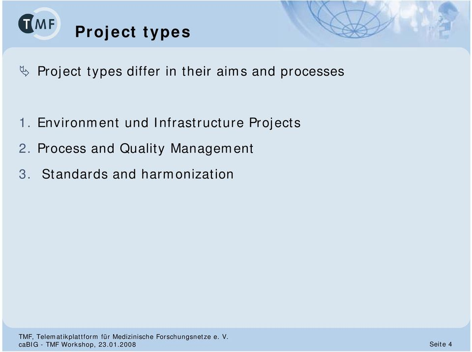 Environment und Infrastructure Projects 2.