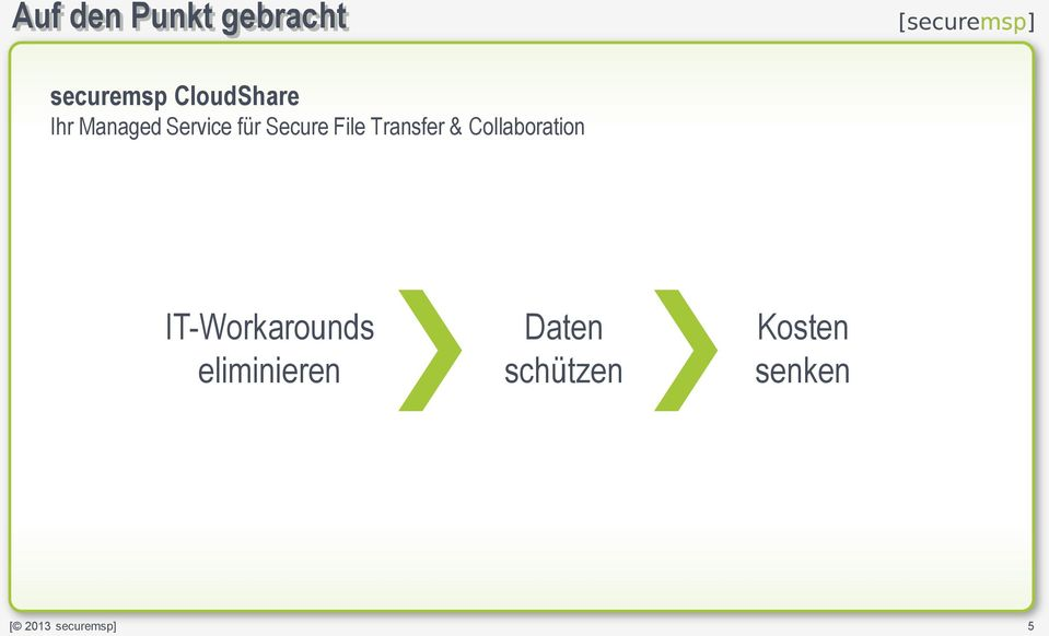 Secure File Transfer & Collaboration