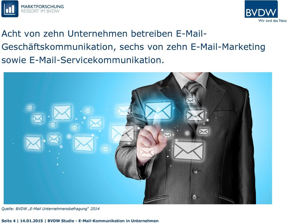 E-Mail-Servicekommunikation.