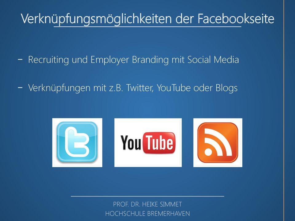 Employer Branding mit Social Media