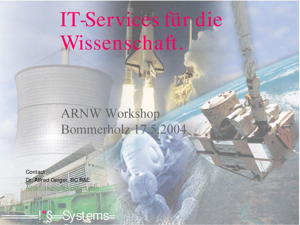 ARNW Workshop Bommerholz 17.5.