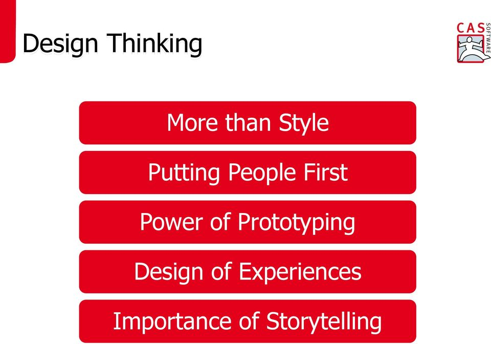 Power of Prototyping Design of