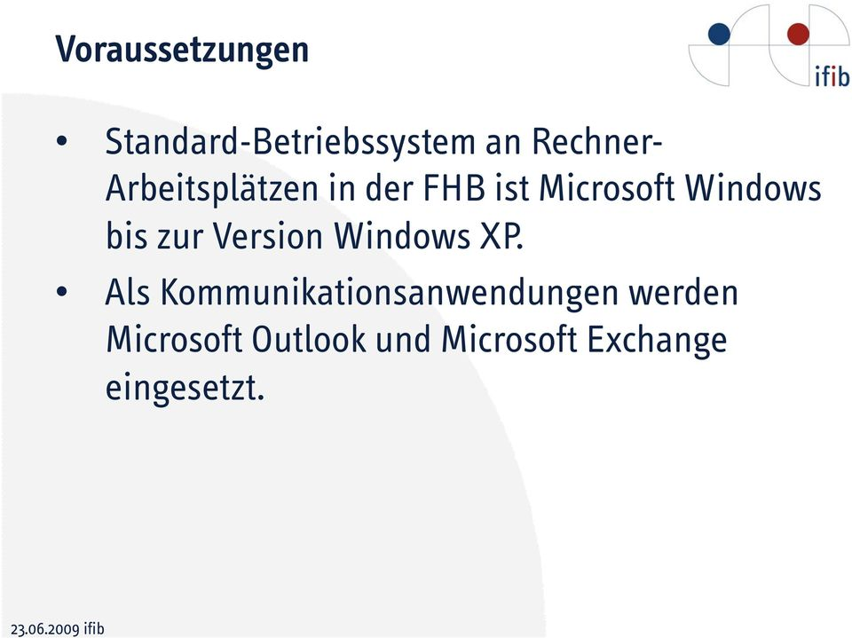 zur Version Windows XP.