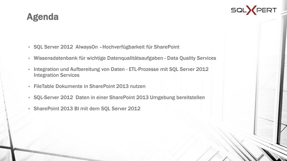 ETL-Prozesse mit SQL Server 2012 Integration Services FileTable Dokumente in SharePoint 2013