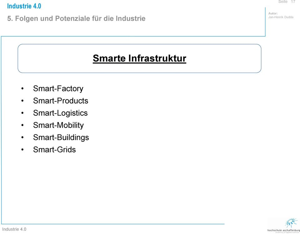 Smart-Factory Smart-Products