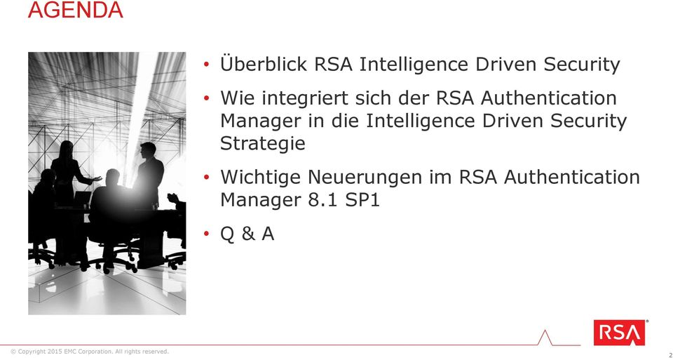 in die Intelligence Driven Security Strategie