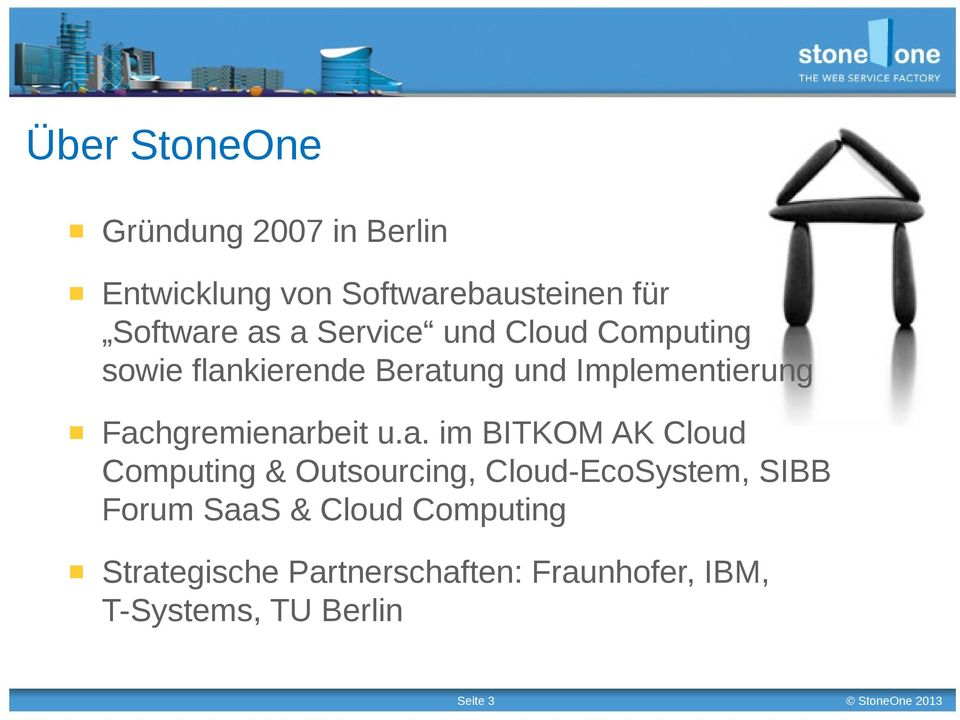 Fachgremienarbeit u.a. im BITKOM AK Cloud Computing & Outsourcing, Cloud-EcoSystem, SIBB