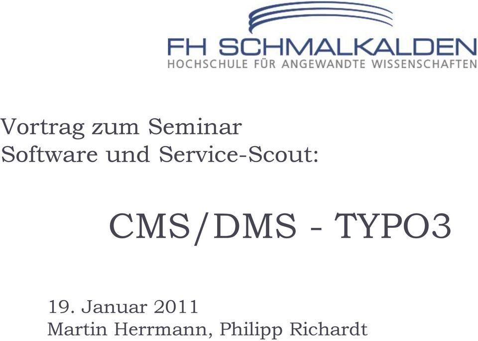Service-Scout: 19.