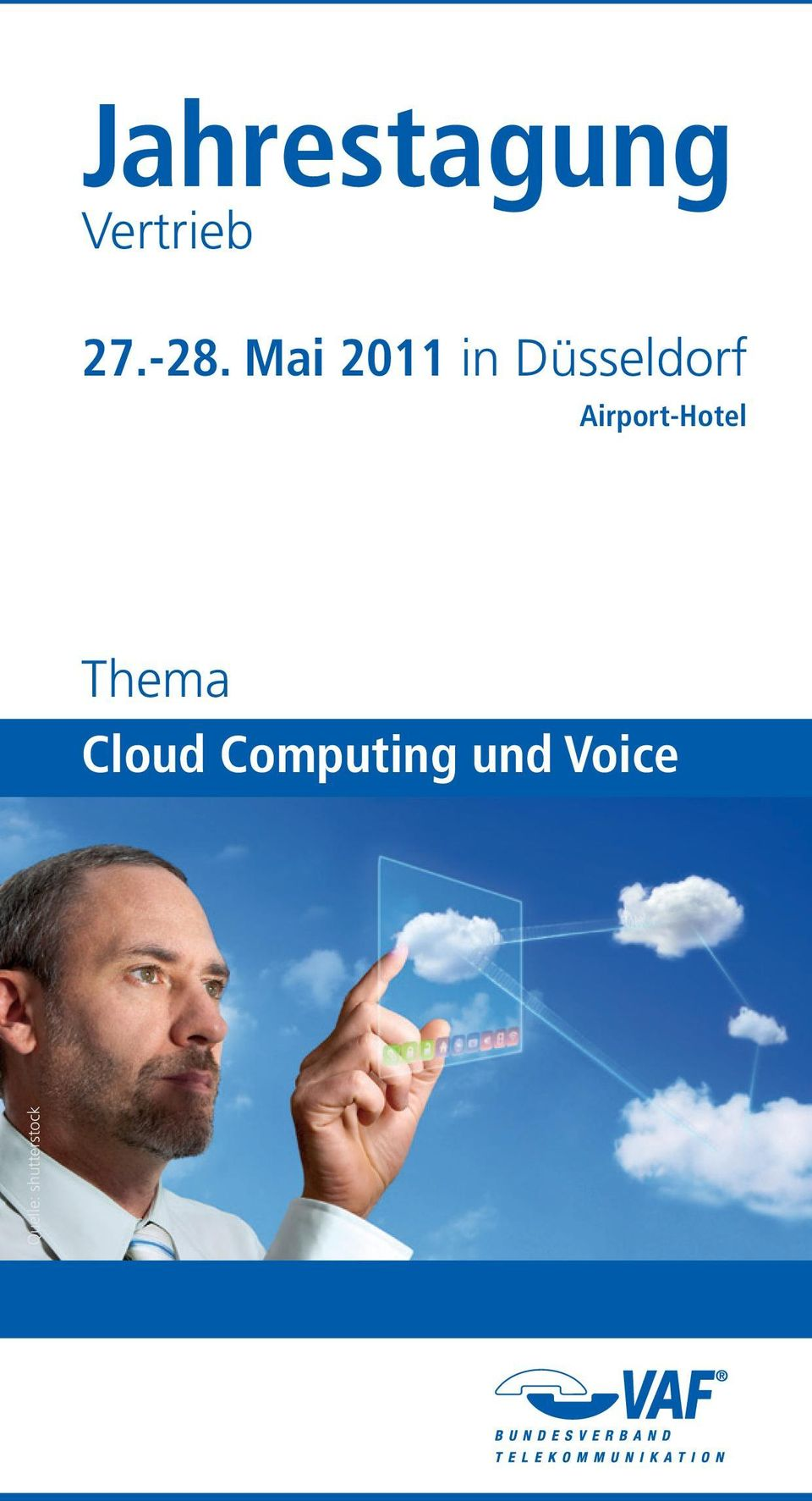 Airport-Hotel Thema Cloud