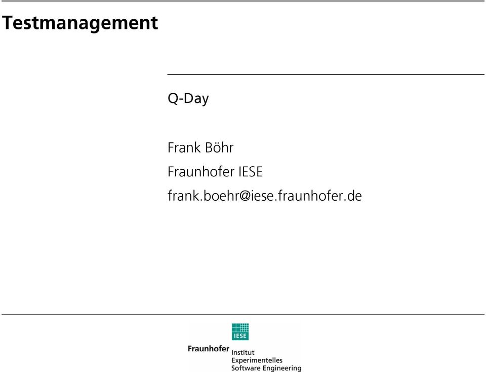 IESE frank.