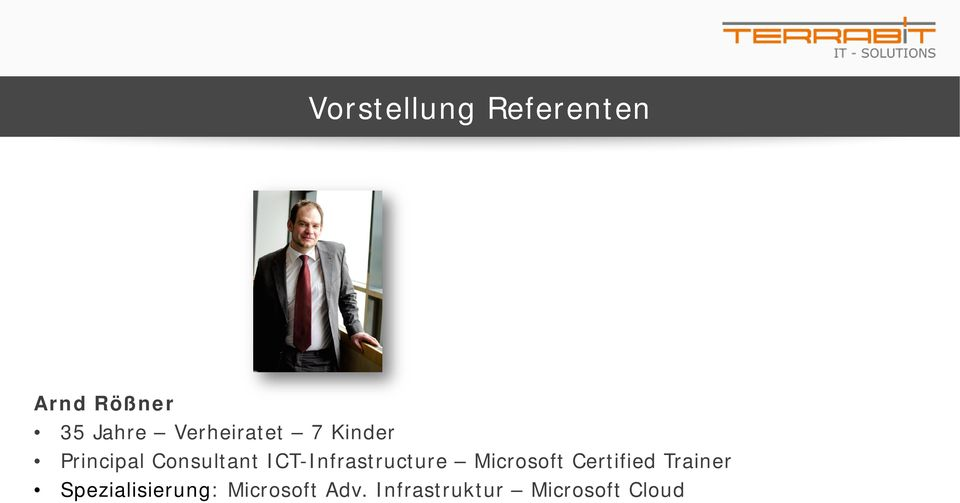 ICT-Infrastructure Microsoft Certified Trainer