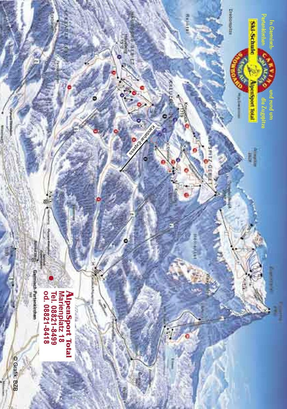 Zugspitze Grafik: BZB AlpenSport otal