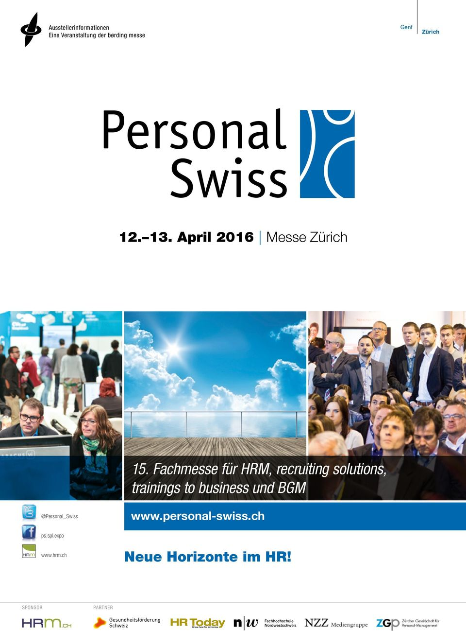 Fachmesse für HRM, recruiting solutions, trainings to business und