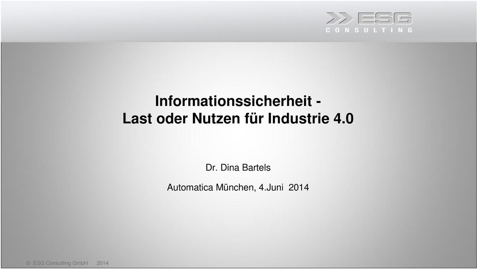 Industrie 4.0 Dr.
